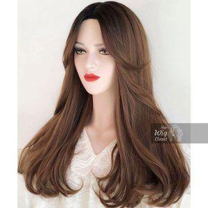Brown Blonde Wig blk ombre | Annabella